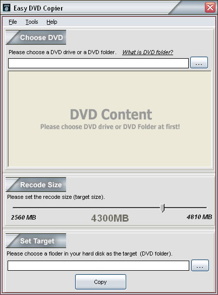 Easy DVD Copier 3.3 full