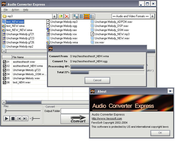 Audio Converter Express