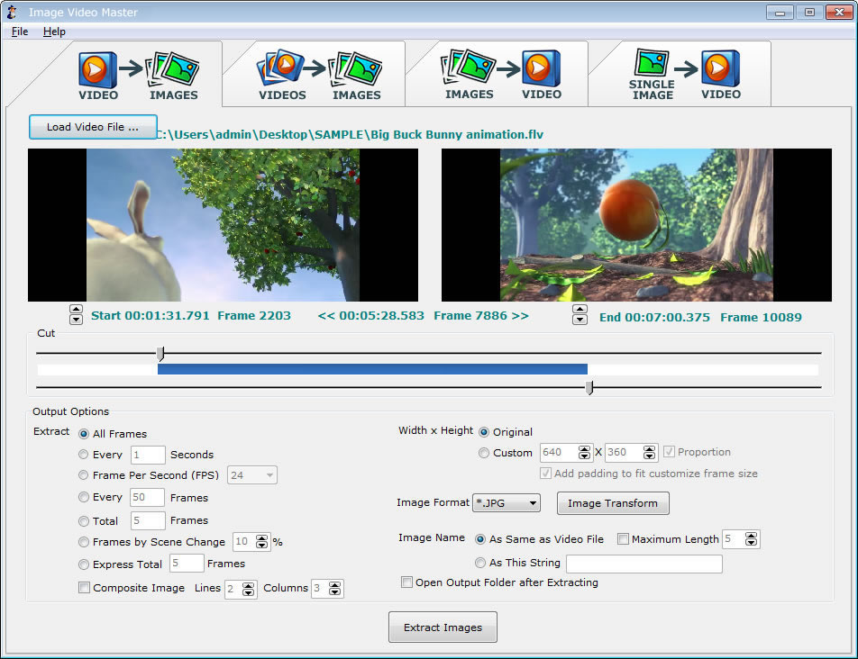 Click to view A4 Image Video Converter screenshots