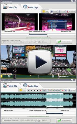Full Video Audio Mixer, Merge Video & Audio, Cut Video
